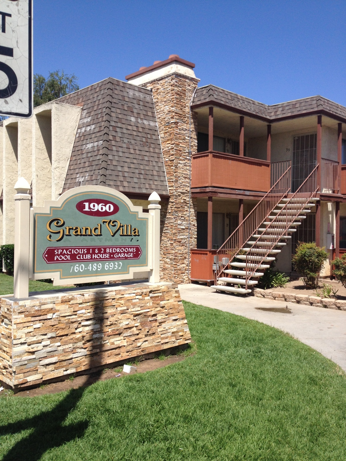 Grand Villa Apartments in Escondido.